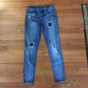 Vanilla Star Pants - Vanilla Star ripped skinny jeans